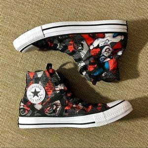 f39db7c2f64f Converse Shoes - Converse Women s 8 Mens 6 Harley Quinn HiTop NEW